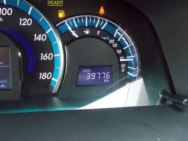 走行距離は、39,800km程です!