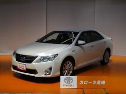 トヨタ カムリハイブリッド 2.5 Gパッケージ SDナビ フTV 電動シート クルーズC