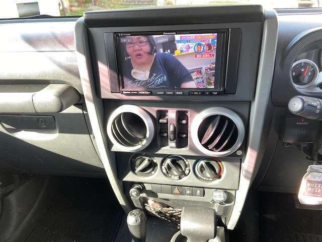 TVももちろん走行時映ります。只今バックカメラ取り付け中