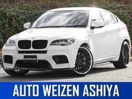 BMW X6 M 4.4 4WD 正規D車/右/黒革/ナビTVカメラ/車高調/23AW