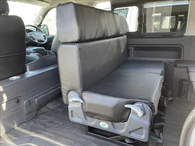 FASP対面式でもアレンジ可能になります!旅先での休憩の際はご家族、ご友人と車内で楽しむことができます!