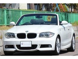 BMW 1シリーズカブリオレ 120i Mスポーツパッケージ 黒革 ナビ TV DVDビデオ Bカメラ PDC M17AW