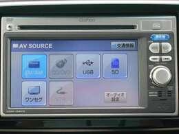 純正メモリーナビです。DVD/CD再生のほかにもワンセグTV、USB入力端子、Bluetooth連携機能も装備されとっても便利です!
