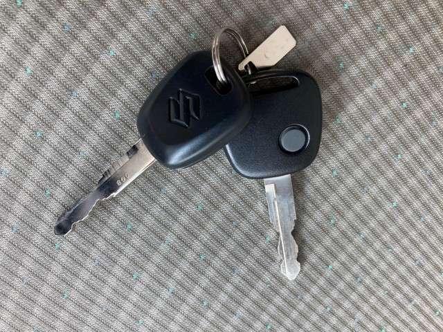 【キーレス】ボタンひとつで鍵の解除、施錠ができます!