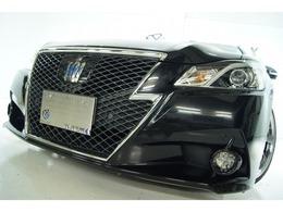 トヨタ クラウンアスリート ハイブリッド 2.5 S 本革 新品19アルミ新品タイヤ 新品車高調