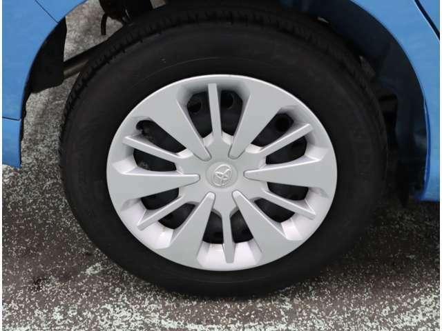 タイヤサイズは、165・65・14インチになります