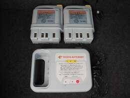 バッテリーはご家庭用のコンセントで充電可能!約3時間で満充電にすることができます☆