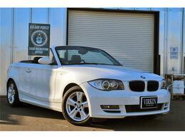 BMW 1シリーズカブリオレ 120i ブラックレザー 社外ナビTV HIDライト ETC
