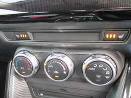 寒い冬も快適!運転席、助手席シートヒーター完備。