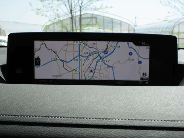 Aプラン画像:純正標準装備のマツダコネクト(AppleCarPlay/AndroidAuto対応)に地図SDを装着するプランです。スマートフォンをつながずにカーナビを使っていただけます。
