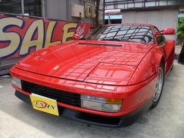 フェラーリ テスタロッサ 初期型 黒革 センターロック Aピラー型ミラー