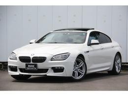 BMW 6シリーズグランクーペ 640i Mスポーツ LEDヘッドライト サンルーフ 黒革