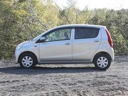 軽量な車体で燃費に定評があります