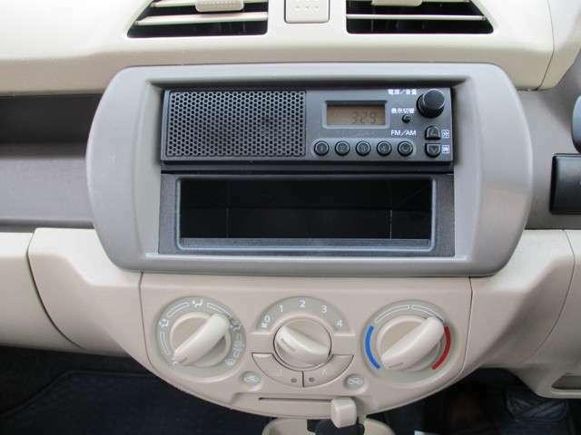 スピーカー付きAM/FMラジオです。