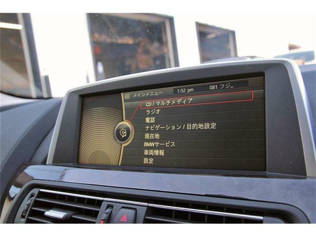 idriveナビに加えフルセグTV、Bluetooth機能、DVD再生等も装備されております♪