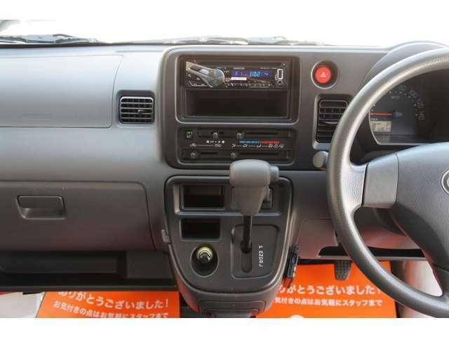運転席&助手席ともにエアバック付・ABS付