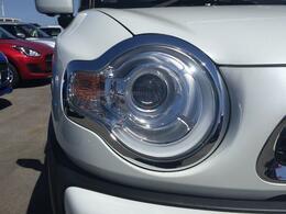 LEDヘッドランプです。もちろんオートライトも付いています。