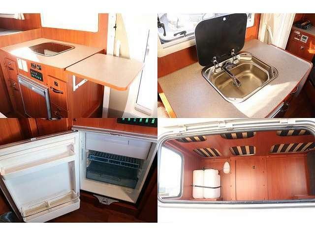 キッチン 給排水タンク シンク Dometic冷蔵庫