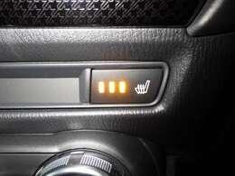 シートヒーター機能付きで寒い季節も快適です☆彡