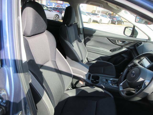 クッション性のいいシートで長距離の運転でも疲れにくい