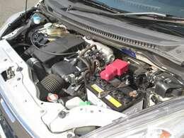 直列3気筒DOHC Mターボエンジン搭載