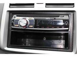 純正のCDオーディオ搭載!楽しいドライブに楽しい音楽を!音質も良好です!