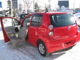トヨタ パッソ 1.0 X ウェルキャブ 助手席リフトアップシート車 Aタイプ 4WD