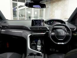『i-cockpit』 革新的なデザイン性と直感的な操作性を追求したインテリア。