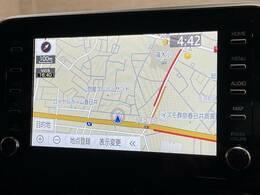 フルセグ内蔵の純正ナビ搭載。Bluetoothも対応可能です。