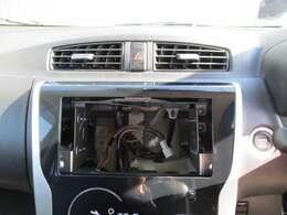 オーディオレス車です。お好みのチューナーをチョイスして下さい!