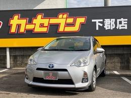 トヨタ アクア 1.5 G 純正CDオーディオ 前席シートヒーター