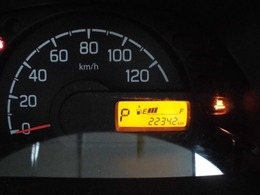 【装備紹介】現在の走行距離は22342キロです。
