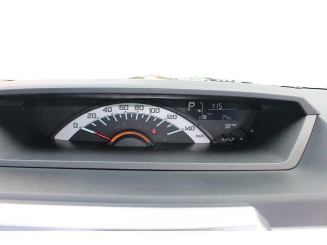 大型で見やすい自発光式1眼センターメーター☆平均燃費や航続可能距離など、走行に役立つ情報が表示されるマルチインフォメーションディスプレイが付いています♪