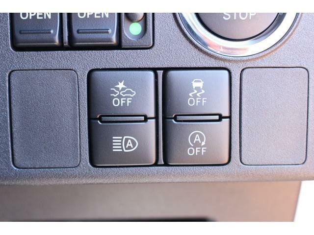 各機能のスイッチ類です☆状況に応じてロービーム・ハイビームを自動で切り替えしてくれる、オートハイビーム機能が搭載されています♪