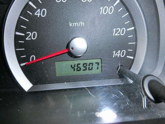 走行距離は46907KM