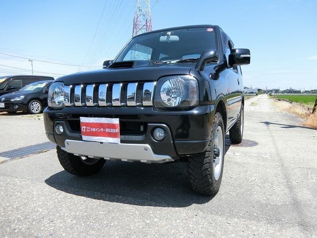 特別仕様車クロスアドベンチャーXC4WD5速ギアのジムニーに地デジフルセグナビTVつきがご入荷致しました。