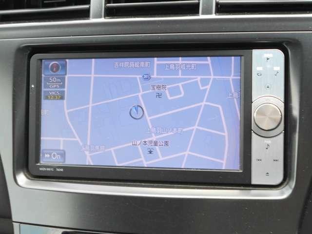 地デジ放送対応純正HDDナビ