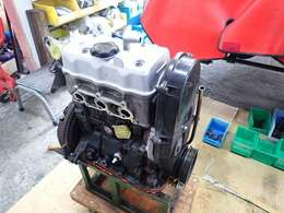 エンジンはジャパンリビルト製のリビルトエンジンに換装しています。ターボもリビルト品に交換実施。エンジンは4万キロもしくは2年保証、ターボは2万キロもしくは1年保証付き