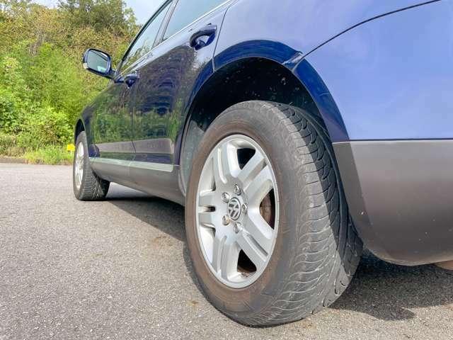 タイヤ溝も充分ございます 安心してお乗りいただけます。