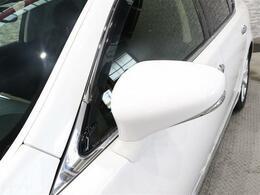 オシャレで後方からも確認しやすい安全なウィンカーミラー付き!