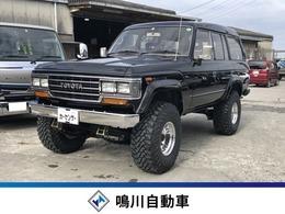 トヨタ ランドクルーザー60 4.0 VX ハイルーフ ディーゼルターボ 4WD サンルーフ 4インチリフトアップ 全塗装済