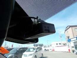 もしもの事故のときにも安心のドライブレコーダー !!