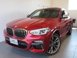 BMW X4 M40i 4WD 認定中2年保証セレクトPディスプレイキー