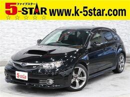スバル インプレッサハッチバックSTI 2.5 WRX Aライン 4WD ナビBカメ黒半革HKSマフラー純正AW