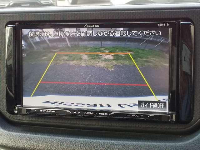 バックカメラ付き!ガイドラインの表示有り♪駐車・車庫入れに強い味方です!