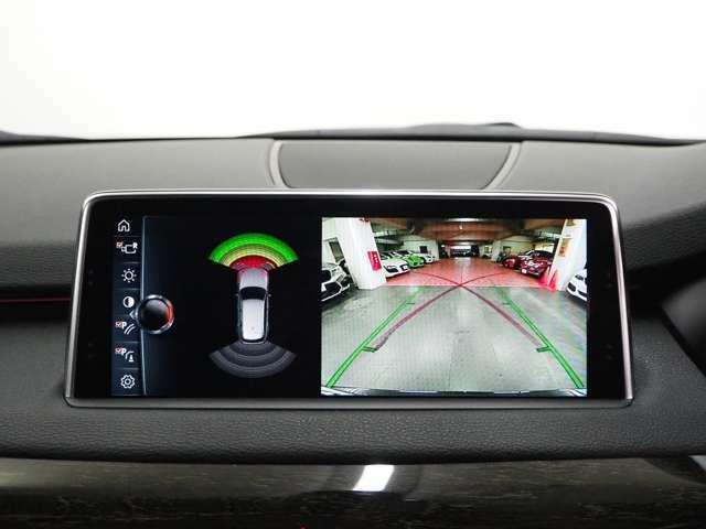 パノラマカメラと前後PDCが装備されており、安心して駐車することが出来ます。