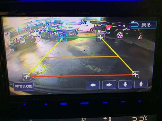 安心のバックカメラ☆大きい車でもこれがあれば駐車もスムーズに行えます♪