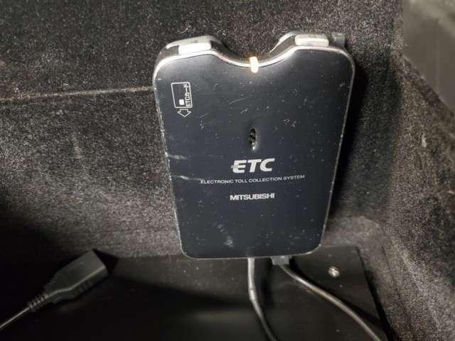 ETCもついてますので、高速道路はラクラク通過できます☆彡