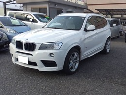 BMW X3 xドライブ20i Mスポーツパッケージ 4WD 走行42000km・車検4年3月・バックカメラ