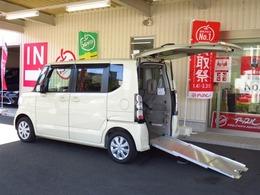 ホンダ N-BOX+ 660 G 車いす仕様車 スローパー電動ウインチ 距離6千km